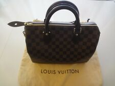 Louis Vuitton Speedy 30 Damier Ebene Canvas Satchel 95472213e5794