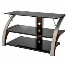 Z-Line Elecktra TV Stand with Optional Mounting Kit - Cherry, Brown, 44