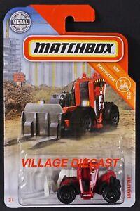 2019 Matchbox #38 Load Lifter™ MATTE RED / LOAD LIFTER UNIT 5 / MOC