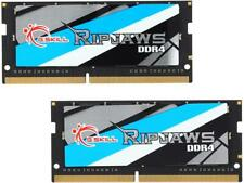 G.SKILL Ripjaws Series 32GB 2 x 16G 260-Pin DDR4 SO-DIMM DDR4 2400 Laptop Memory