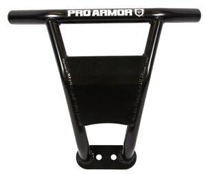 Pro Armor Front Sport Aluminum Bumper Black Guard Polaris RZR RS1 2018+