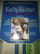 Knifty KNITTER Long Loom Series Provo Craft - Set of 4 Looms