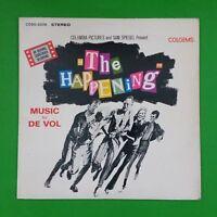 THE HAPPENING Soundtrack by De Vol COSO5006 LP Vinyl VG++ Cover VG+ near ++