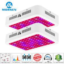 2Pack Morsen 1000w Full Spectrum Led Grow Light Indoor Hydroponic Plant Veg Lamp