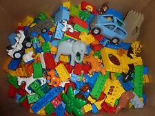 Lego Duplo SUPER SET 500g - 30 Steine + 4 Tiere + Auto + Figur uvm...- 1/2 kg !!