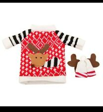 Naughty Elves Accessory Christmas Elf Knitted Jumper Sweater and hat