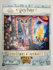 Harry Potter New York Puzzle Company, Challenging! 500 Pcs Christmas At Hogwarts
