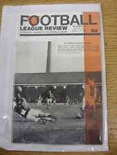 15/10/1966 Football League Review Magazine: Volume 01 Number 08. Thanks for view