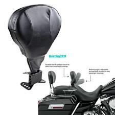 Conducteur Dossier Arrière Passager cuir PU Kit Pour Harley Davidson Modèle 2009