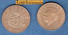 Monaco - Rainier III 1949 - 2005 - 10 Francs 1978 - MONACO