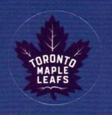 "(HCW) Toronto Maple Leafs Lot of 10 NHL Logo Stickers - 1"" Round x 10"