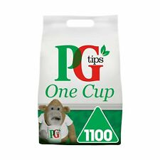 PG Tips una taza Pirámide Bolsitas De Té (paquete de 1, total 1100 bolsitas de té) 1100 papeles