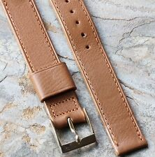 Calfskin Leather old style 16mm vintage watch strap 1940s/50s NOS by Gemex USA
