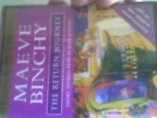 MEAVE BINCHY.THE RETURN JOURNEY.AUDIO BOOK.FREE POSTAGE