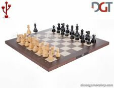 DGT USB Rosewood eBoard with CLASSIC pieces - Electronic chess