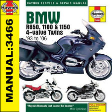 BMW R1150R R1150 Rockster R1150GS Adventurer 2001 - 2006 Haynes Manual 3466 NEW