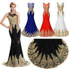 Mermaid Formal Party Sequins Long Prom Ball Gown Bridesmaid Evening Long Dress