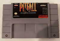 Pitfall The Mayan Adventure - Authentic SNES Super Nintendo Game
