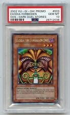 Yu-Gi-Oh! Dark Duel Stories Exodia the Forbidden One DDS-003 PSA 10 GEM MINT