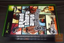 Grand Theft Auto: San Andreas (Xbox 2005) FACTORY SEALED! - RARE! - EX!