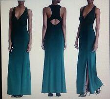 RALPH LAUREN evening gown BLACK US 16 BNWT formal dress evening designer dress