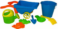 Mini Wheelbarrow, Watering Can, Bucket, Spade And Sand Accessories
