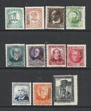 TANGER. Año: 1937/8. Tema: SELLOS DE ESPAÑA. HABILITADOS.