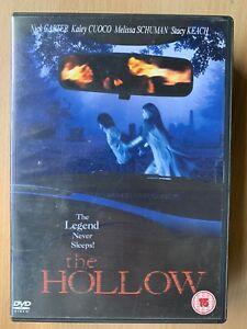The Hollow DVD 2004 Cult Sleepy Headless Horseman Horror Movie w/ Stacy Keach