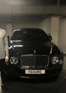 Private number plate - FAILURE - One of A Kind - Rare - Eye turning Reg