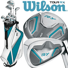 WILSON TOUR RX LADIES COMPLETE GOLF SET +DELUXE GOLF CART BAG BAG -NEW FOR 2020