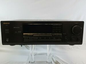 Onkyo TX-8511 Receiver Amplifier 200 Watt AM FM AV Stereo Receiver No  Remote