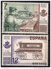 Spanish Stamps - 1981 Postal & Telecommunications Museum Madrid In MNH Condition