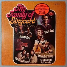 The Family of Singcord, Various Artists (LP, 1976) New