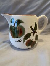 Vintage* STANGL Orchard Song * Pitcher * 1962-1978 Apple & Cherries