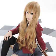 Tiger and Dragon Toradora! Aisaka Taiga 80CM Long Wavy Heat Resistant Wig E090
