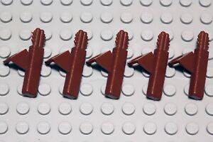 NEW LEGO - Body Wear - Quiver Reddish Brown x 5 - Castle -  Arrow Archer