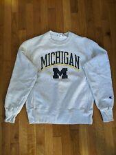 New listing Vintage University Of Michigan Champion Sweatshirt Size Small Reverse Weave