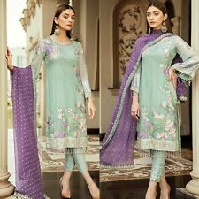 Pakistani Maria B DESIGNER Suit Wedding Dress 2020 Eid Collection Shalwar Kameez