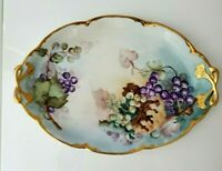 Hutschenreuther Selb Alice Bavaria hand painted Tray Platter, signed and dated