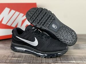 New Nike Air Max 2017 Black Anthracite Mens Running Shoes [849559-001] Silver