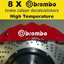 8 X Brembo Brake Caliper Decal Sticker Vinyl Emblem Graphics Car Evo_A