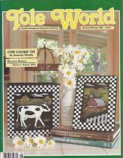 TOLE WORLD ~ JANUARY/FEBRUARY 1992