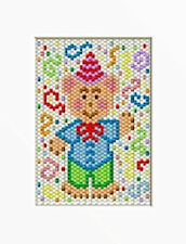 Happy Birthday Bear Beaded Banner Pattern
