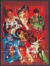 Elvis Presley , The King - Mongolei Kleinbogen postfrisch**