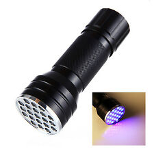 21 LED 3 in 1 Multi Function Torch Flashlight Light Lamp  UV Light
