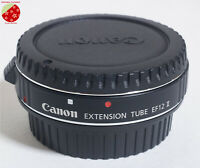 Mint Genuine Canon EXTENSION TUBE EF12 II for Canon EF/EF-S Mount Lens from JPN