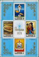 Samoa 1970 SG357 Christmas MS MNH