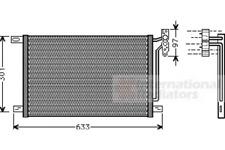 Kondensator, Klimaanlage für Klimaanlage VAN WEZEL 06005215