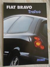Fiat Bravo Trofeo brochure Nov 1999 German text