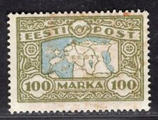 ESTONIA 1923/4 STAMP Sc. # 78 MH